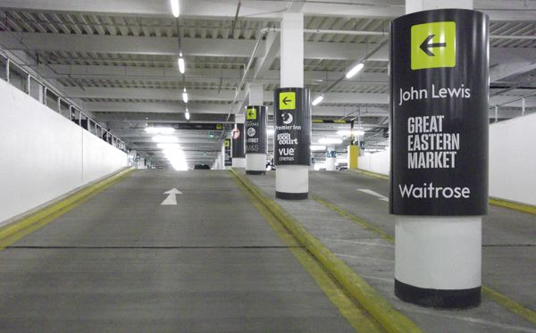 Car Park Column Wraps With Images Signage Signage System