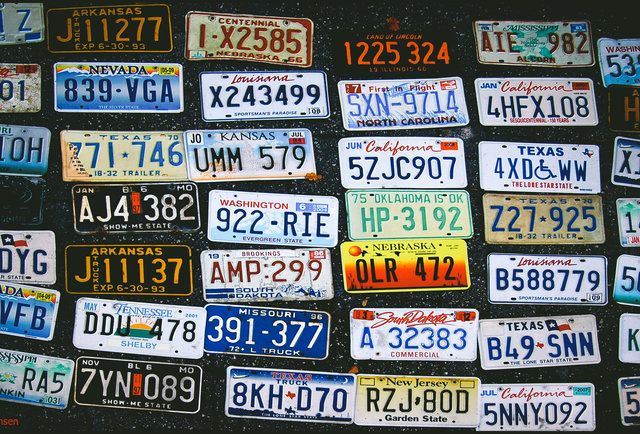 All 50 United States License Plates, Ranked Weekend road