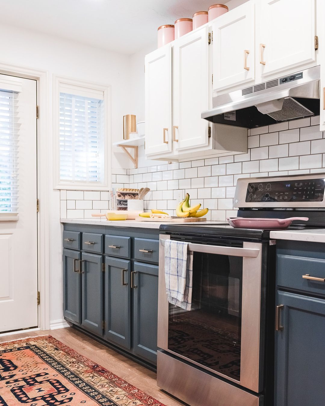 How do you improve a small galley kitchen with poor lighting