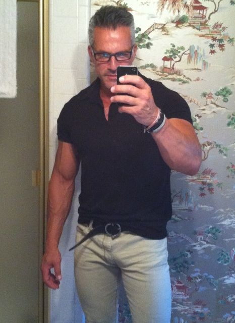 Older men selfies