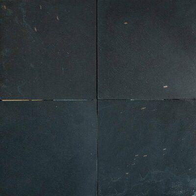 Stone Tile Shoppe Inc 16x16 Slate Field Tile Wayfair In 2020 Black Ceramic Tiles Black Slate Tiles Black Marble Tile