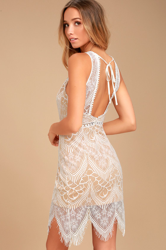Serious Love White Lace Bodycon Dress Wish List In 2019