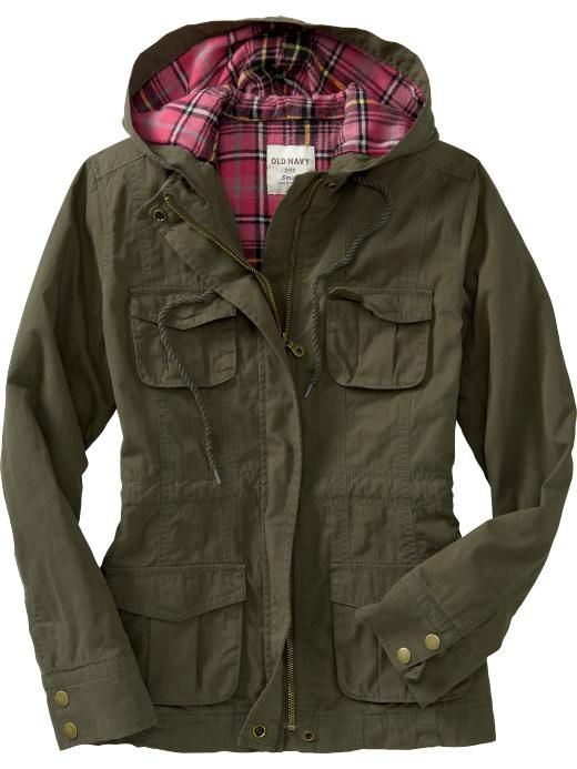 Women S Flannel Lined Utility Jackets Product Image I