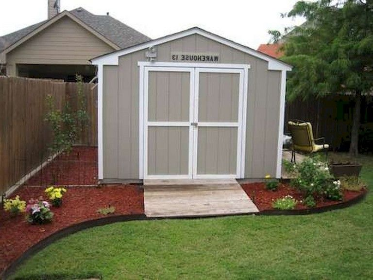 67 New Backyard Landscaping Design Ideas On A Budget Shed