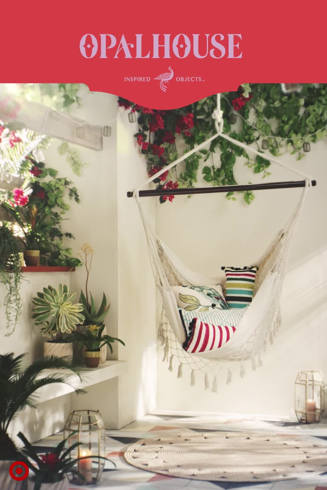 Welcome Summer With Opalhouse, New At Target. This Patio Hammock Is A  Ticket To Backyard Paradise.