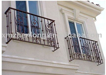Simple Wrought Iron Window Railing Photo Detailed About Simple