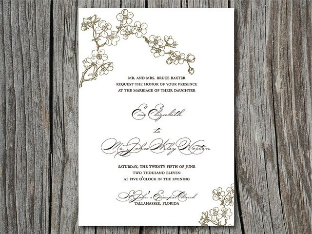 Wedding Invitation Workding: Wedding Invitation Wording` On Pinterest