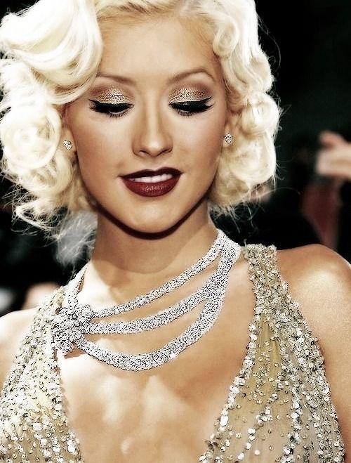 Pin By Hailee Marie On Life Christina Aguilera Burlesque Makeup Christina Maria Aguilera