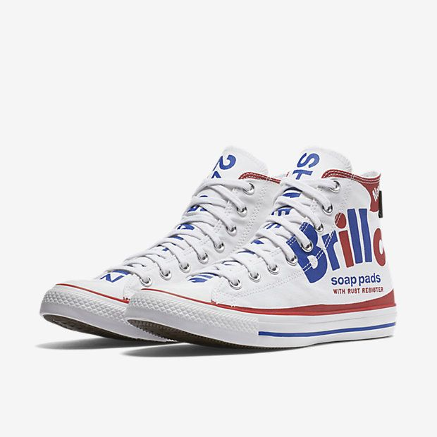 43b54d39ddcd Converse Chuck Taylor All Star Andy Warhol Brillo High Top Unisex Shoe
