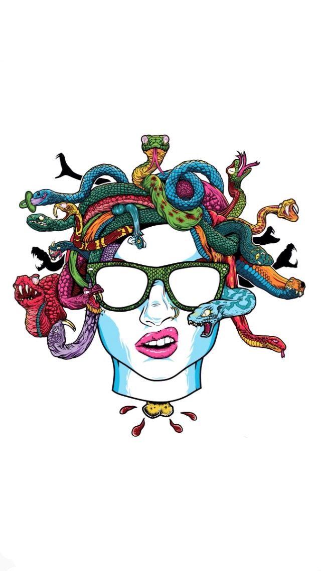 Warped Tour 2016 Medusa Head Wallpaper Iphone Warped Tour