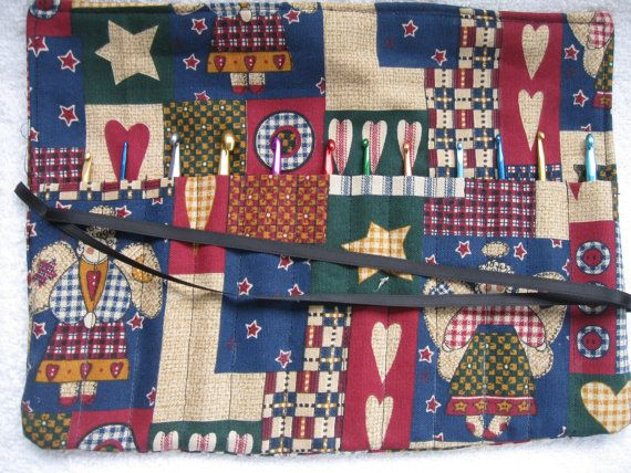 Crochet Hook Case Organizer Holder  Holds 12 by CountryCrafting, $10.00