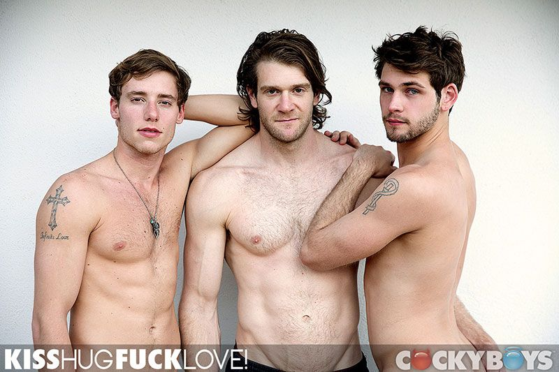 A twink threesome - cockyboys having sex