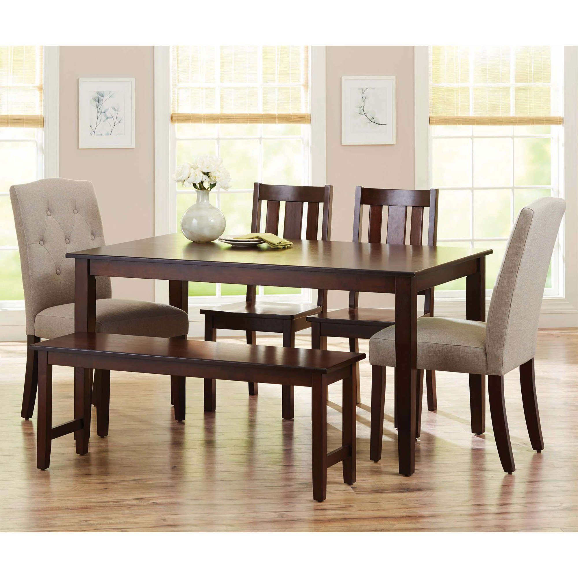 Better Homes Gardens Bankston Dining Table Multiple Finishes Walmart Com In 2021 Classic Dining Room Dining Room Table Set Modern Dining Table