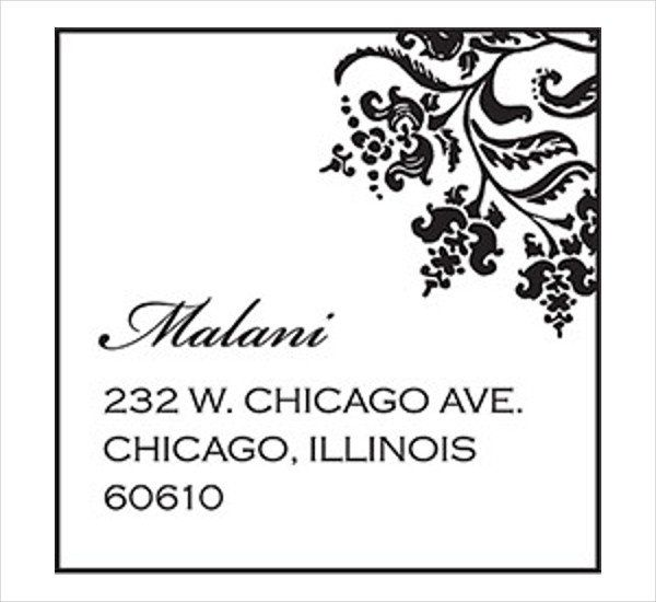 Mailing Address Label Template Beautiful 18 Printable