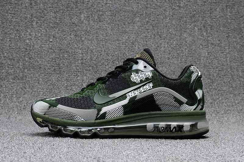 Nike Air Max 2017.8 KPU Camo Green Men Sneakers | Nike air