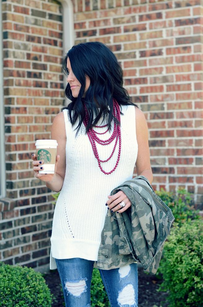 Fall Wardrobe Essentials | Navy nail polish, Military jacket and ...