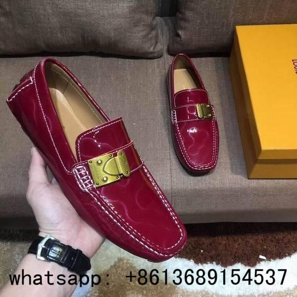83dbc059a79 Louis Vuitton loafers men super AAA LV dress shoes loafers lv driving shoes  LV