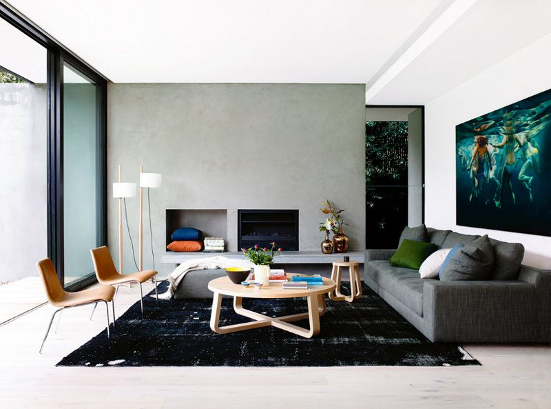 a clean, well lighted interior. desire to inspire - desiretoinspire.net - Inside Out isout