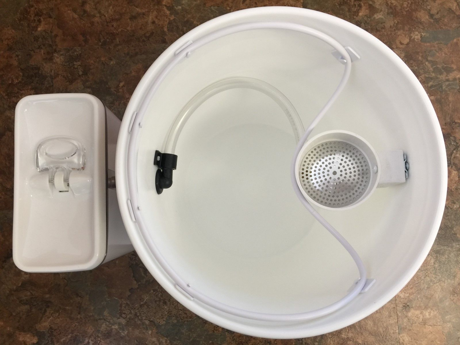 Camping Composting Toilet : Smartjon composting toilet ventless airstream camper conversion