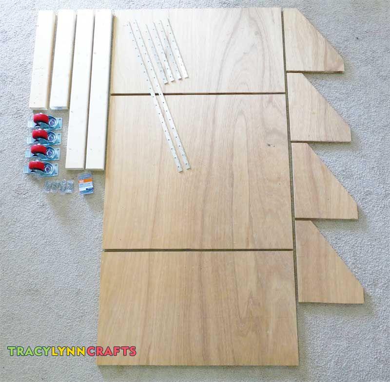 Drop leaf craft table craft room tracy lynn crafts