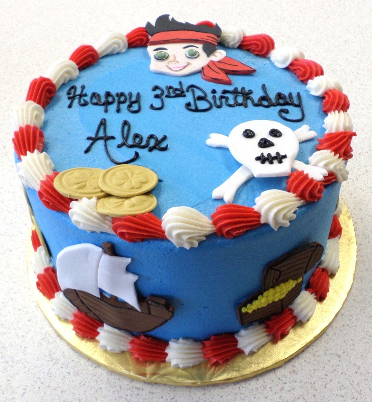 Jake and the Never Land Pirates Birthday Cake Baby boy Pinterest