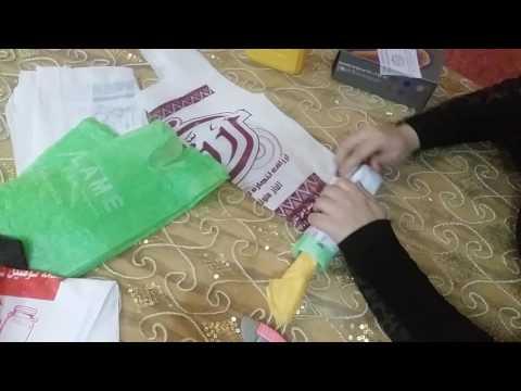 ترتيب أكياس المطبخ بطريقه بسيطه اسهل طريقه لترتيب أكياس المطبخ Youtube Paper Shopping Bag Paper Enjoyment