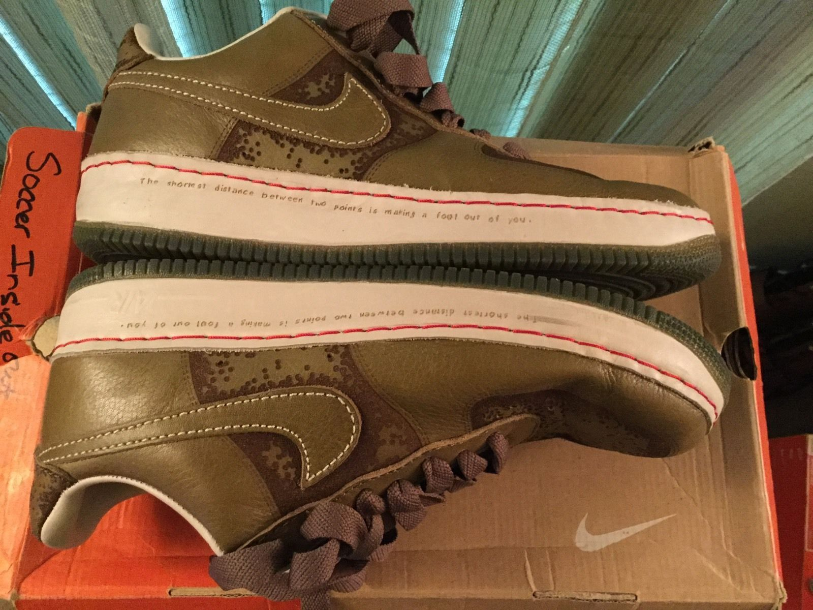 Nike air force 1 mid premium thanksgiving sold out - Men S Nike Air Force 1 Low Io 1 Piece Size 11 Pilgrim Pilgrim Pre Owned