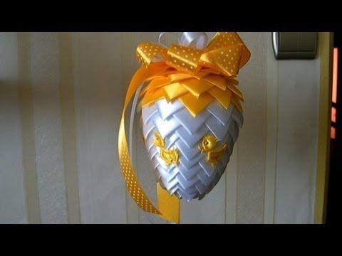 ▶ Jak zrobić śliczne jajka wielkanocne / How to make beautiful Easter eggs - YouTube ornament how to
