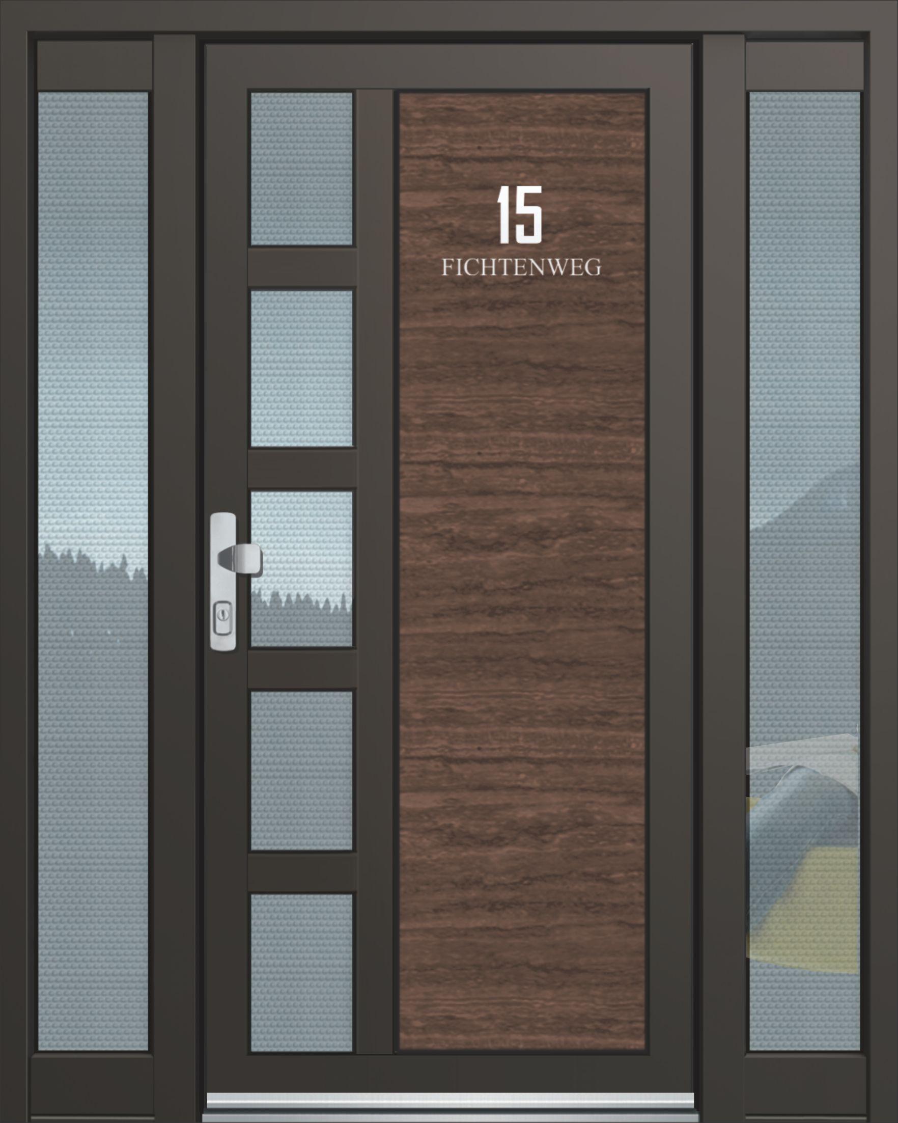 Inotherm Haustür Modell ASS 1792 Tür Mit Viel Glas Preis Auf Anfrage Bei  Www.1001