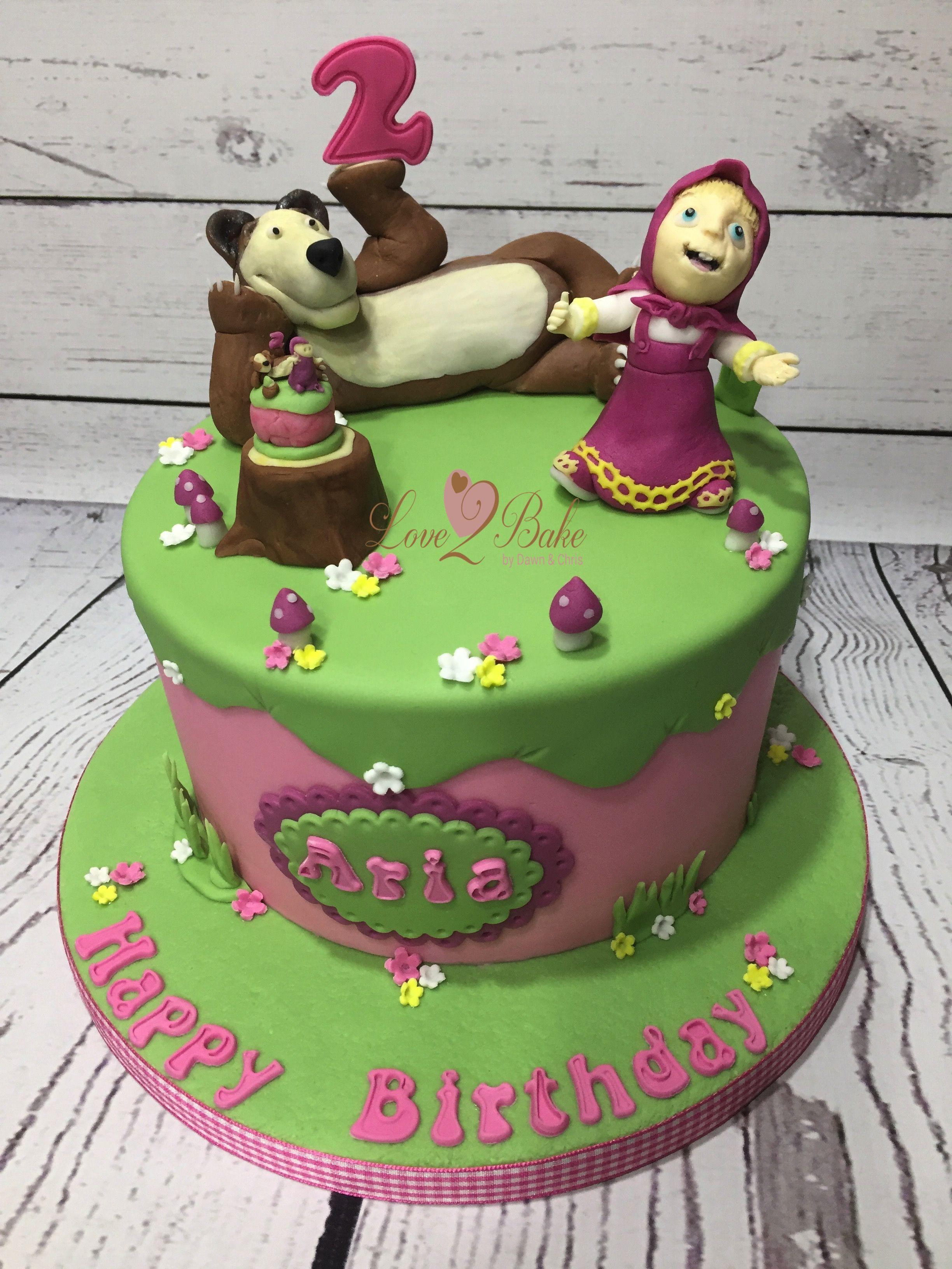 Masha And Bear Cake By Love2bake Oct 2017 Love2bake Cakes