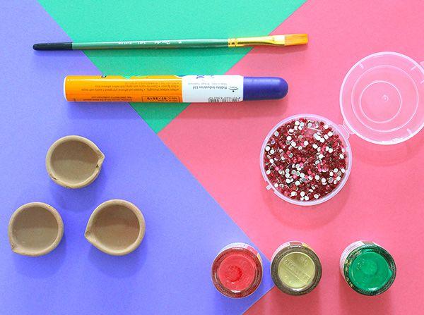 Diy Diwali Diya Decoration Ideas In 10 Mins