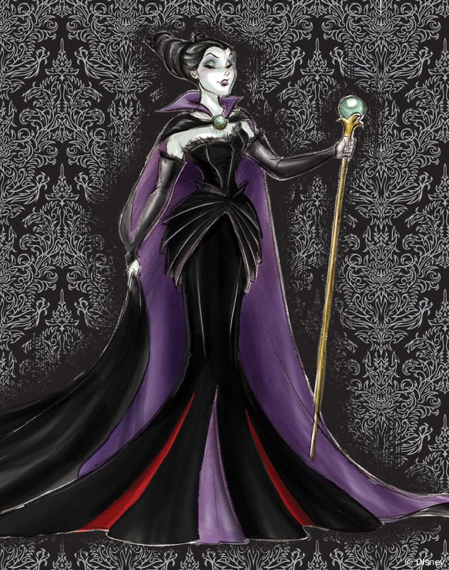 Maleficent - maybe I need to redo my costume!