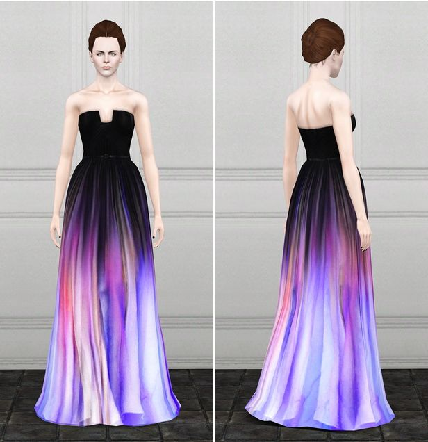 ASHTON: Beautiful dress for your sim! DOWNLOAD AT: http ...