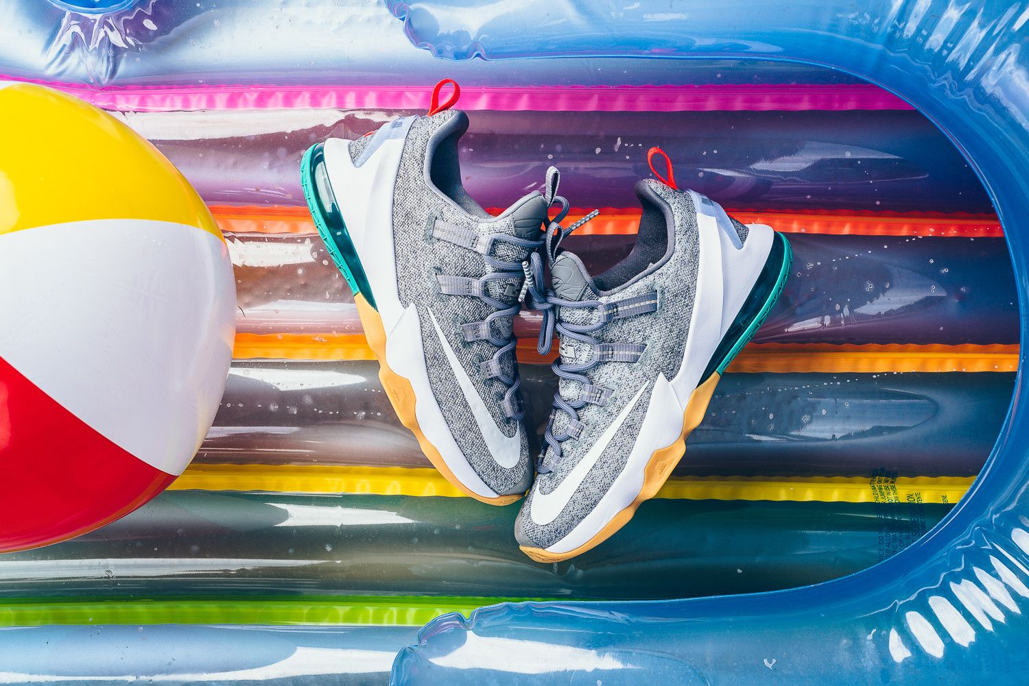 The Nike Lebron 13 Low Summer Pack Drops At The End Of This Month Kicksonfire Com Nike Lebron Nike Nike Basketball Shoes