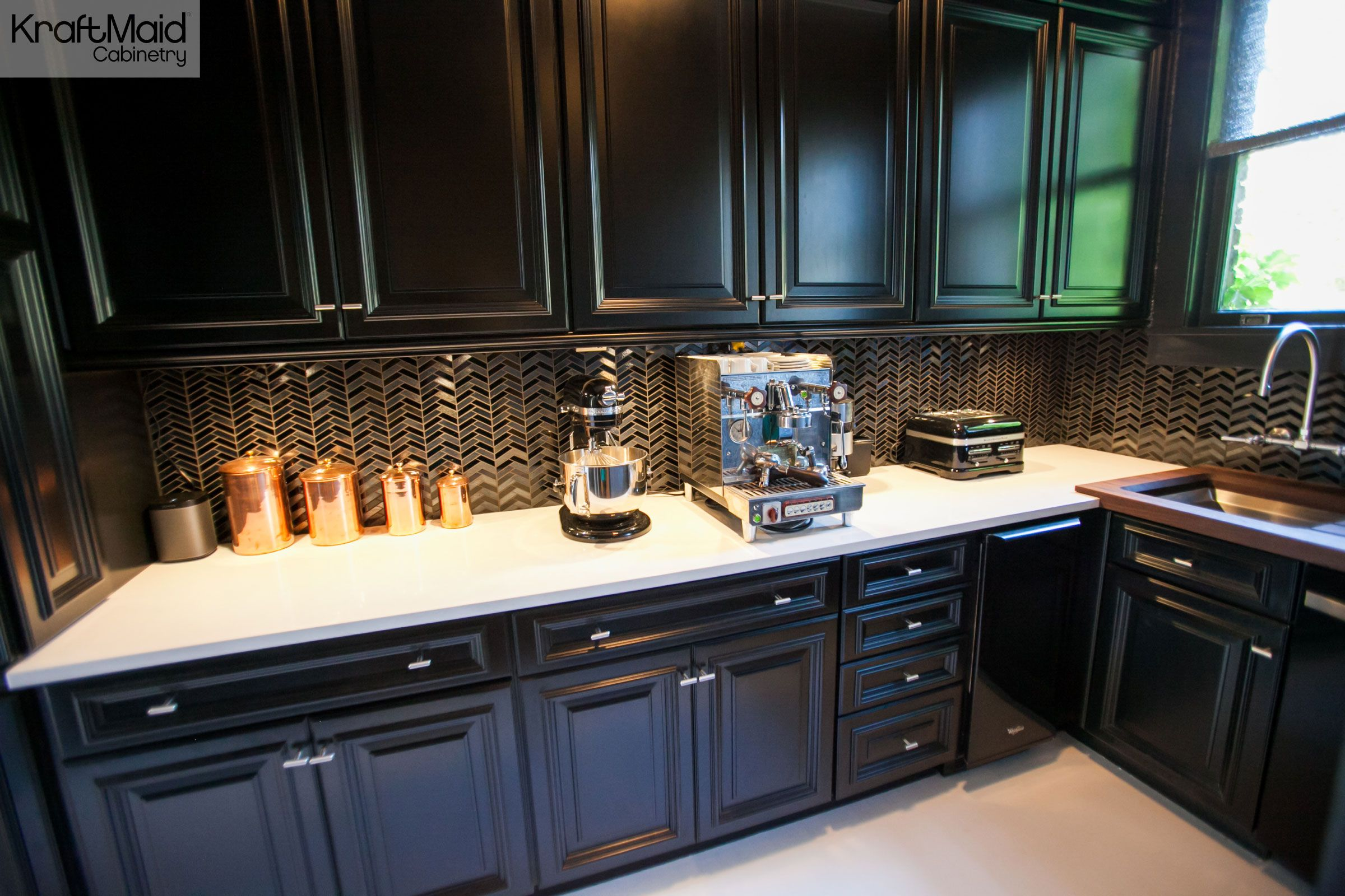 Create A Kitchen That S Cool Calm And Functional: The KraftMaid Butler's Pantry Featured In The House