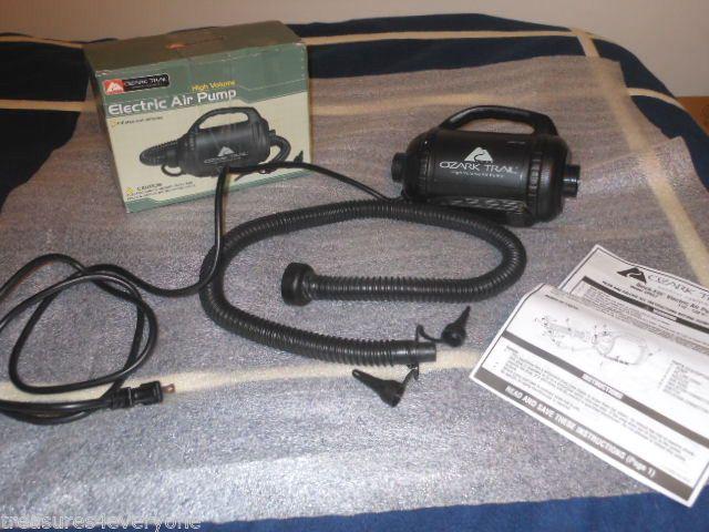 Ozark Trail Intex High Volume Electric Air Pump Model Ap