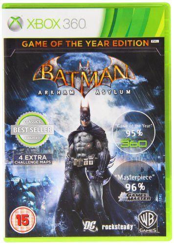 Batman Arkham Asylum - Game Of The Year Edition - Classic (XBOX 360): Amazon.co.uk: PC & Video Games