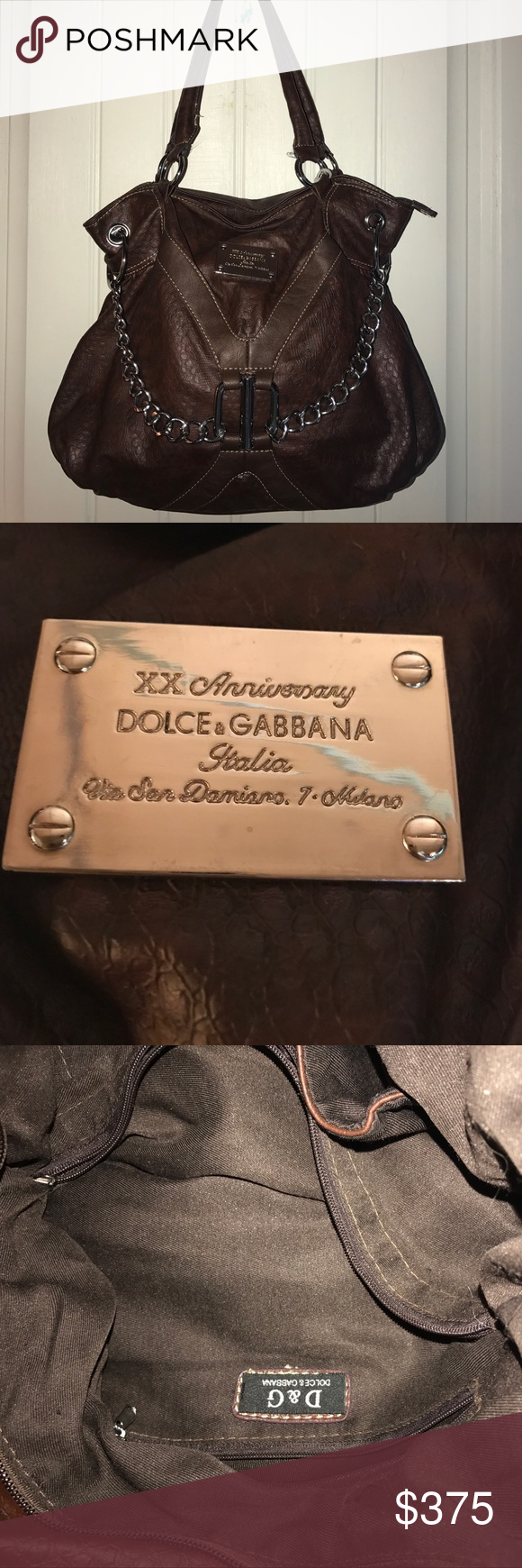 Dolce  amp  Gabbana XX ANNIVERSARY SHOULDER BAG Dolce  amp  Gabbana 20th  anniversary shoulder bag 272b29a9fcd2c