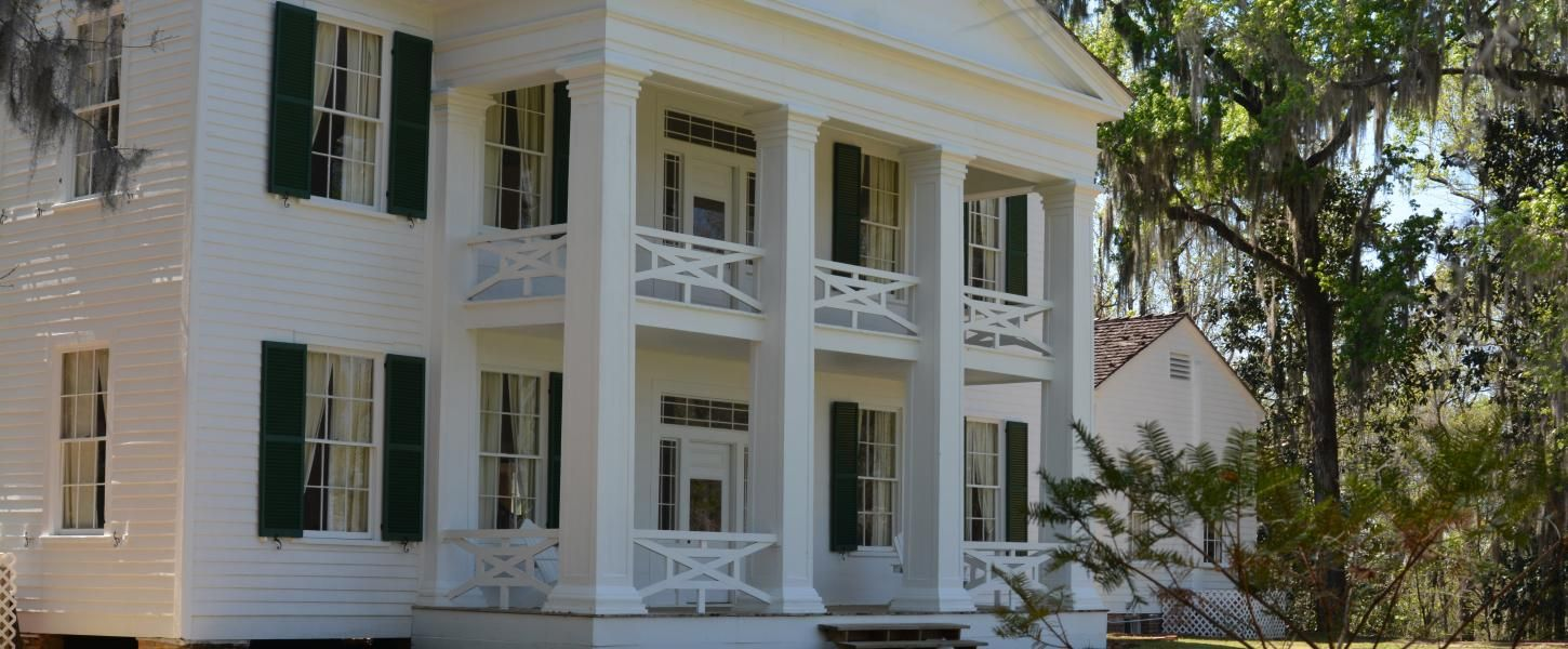 The Gregory House at Torreya State Park State parks