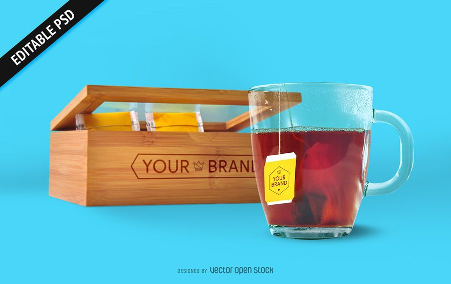 Download Tea Bag And Box Mockup Psd Ad Aff Aff Bag Psd Mockup Tea Box Mockup Tea Bag Mockup Psd