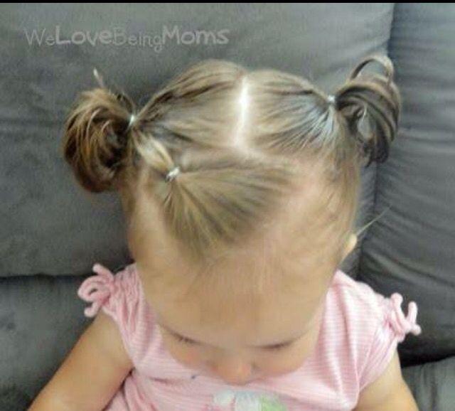Peinados para bebes de pelo corto