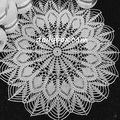 Free Crochet Patterns Easy Pineapple Doily Pattern Free Crochet