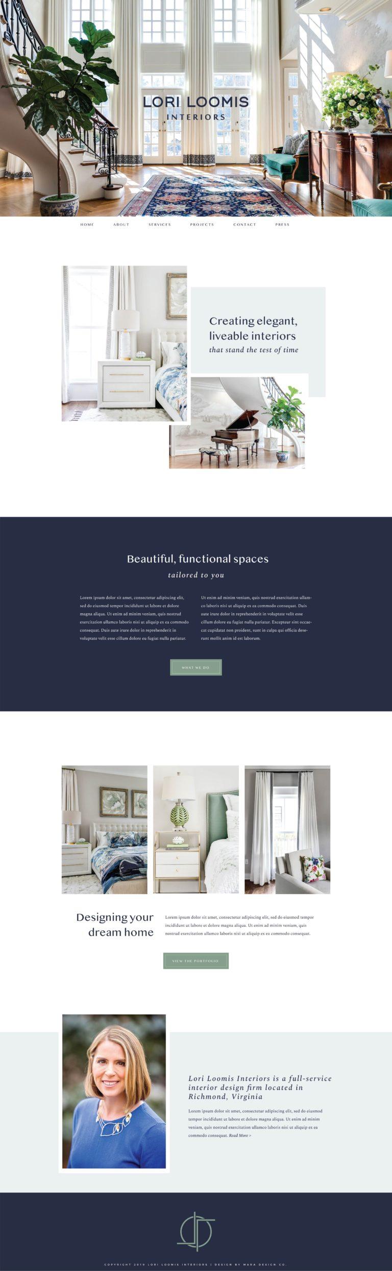 Lori Loomis Interiors Best Interior Design Websites Mara Best Interior Design Websites Interior Design Website Design Your Dream House