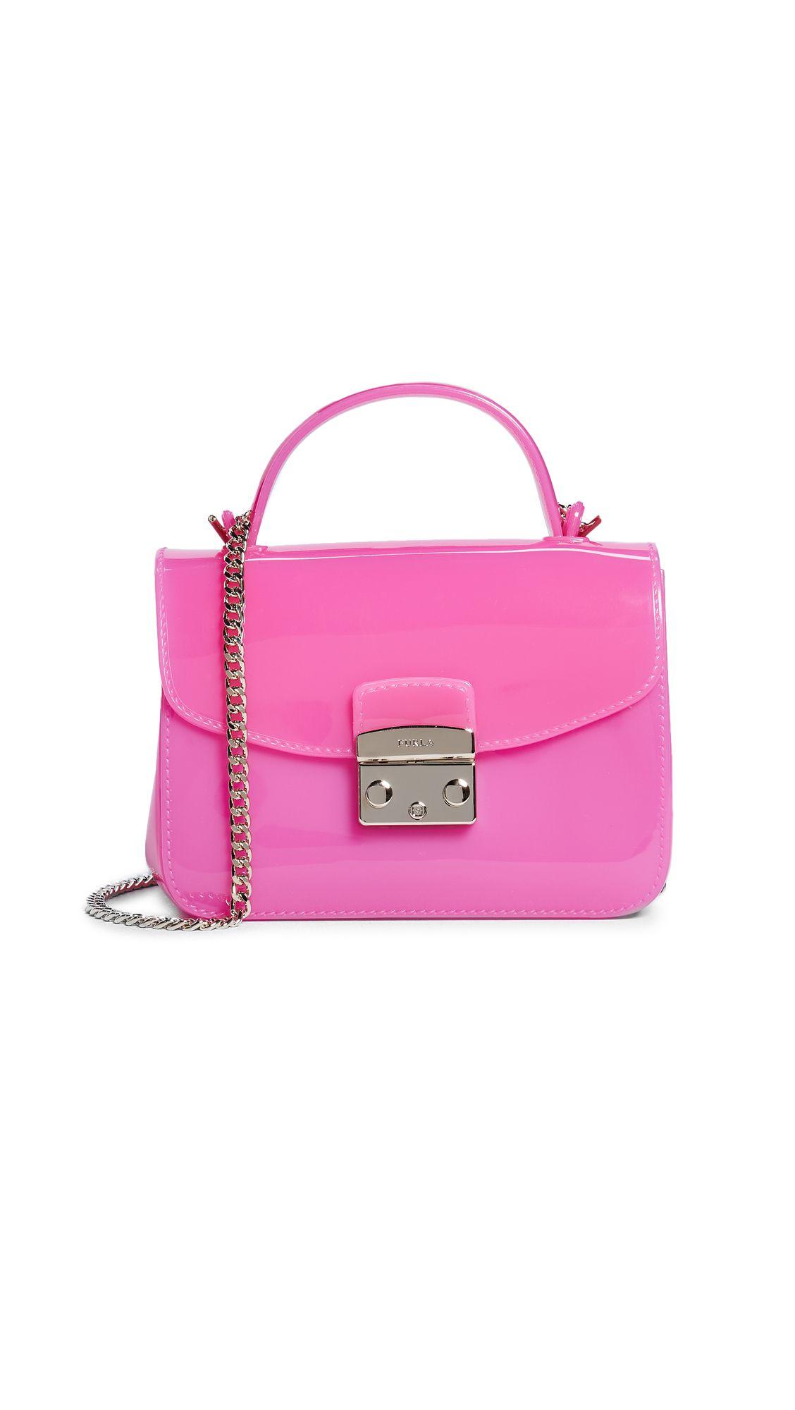 b6d790766ab FURLA CANDY MERINGA MINI CROSS BODY BAG.  furla  bags  shoulder bags  hand  bags  pvc