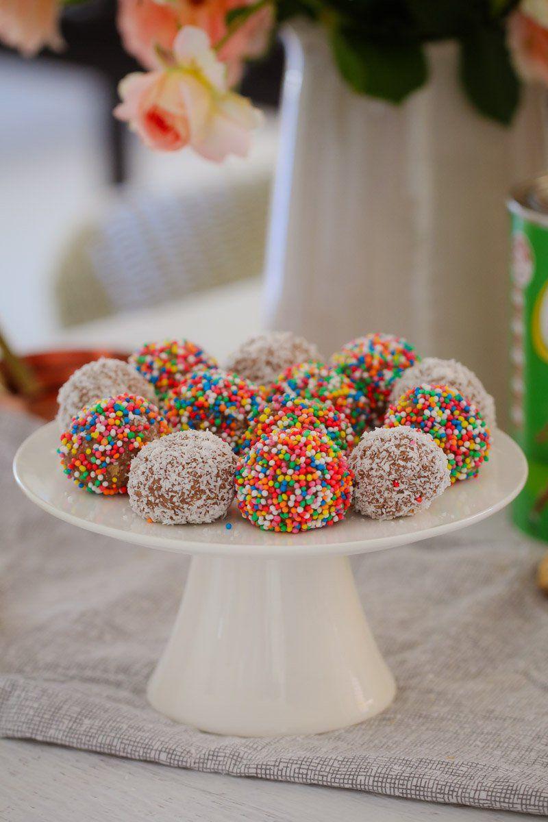 4 Ingredient Milo Weet Bix Balls Recipe Cake Stall 4 Ingredients Food Processor Recipes