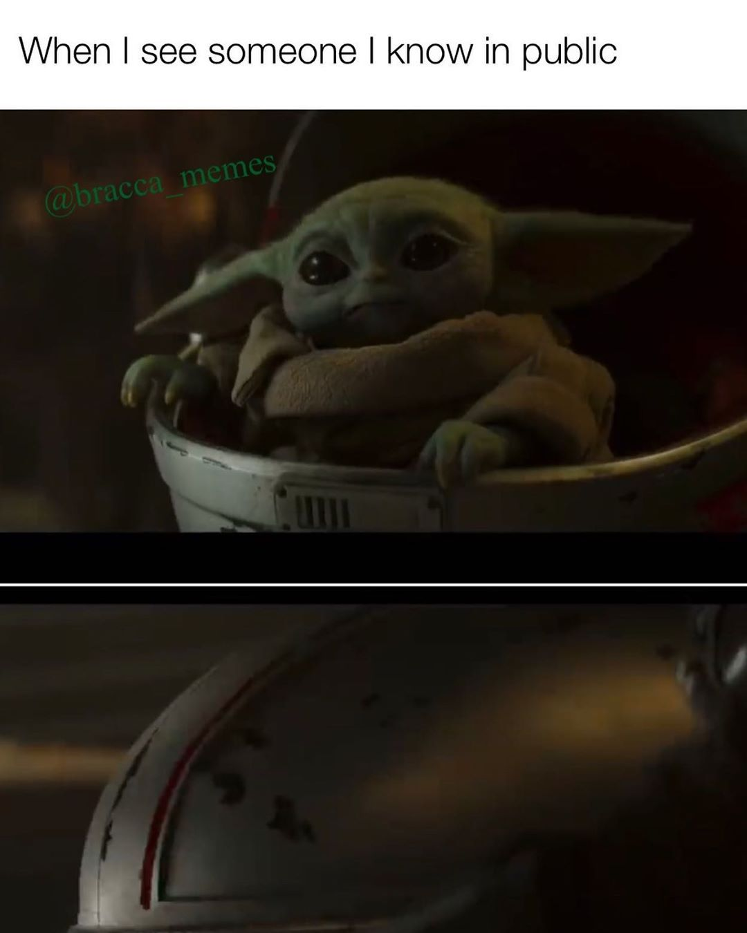 50 Likes 1 Comments Cal Kestis Bracca Memes On Instagram Mandalorian Season Two Trailer Was Good Baby Yoda Funny Funny Star Wars Memes Star Wars Memes