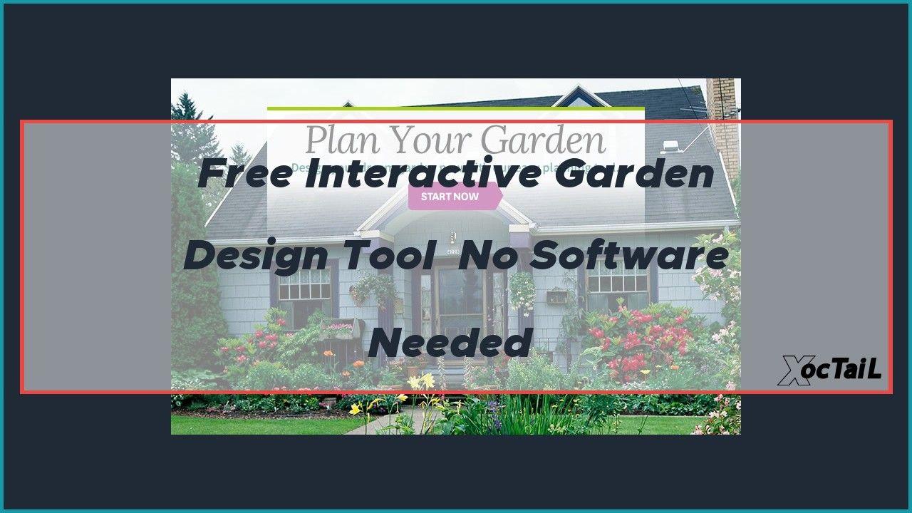 Free Interactive Garden Design Tool No Software Needed Garden Tools Design Tool Design Interactive