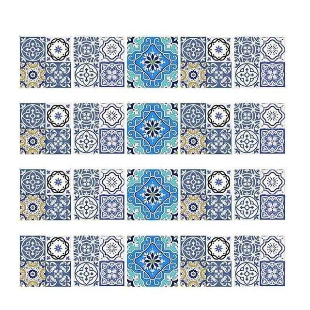 Mosaic Wall Tiles Stickers Diy Tile Mosaic Tile Stickers