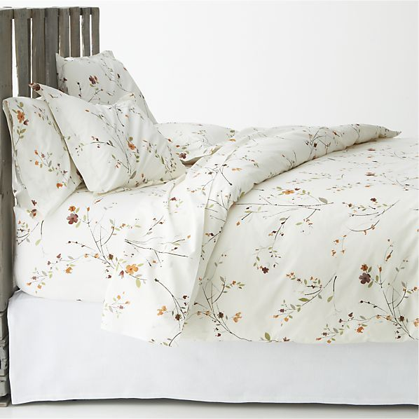 crate & barrel bed linens-really want the duvet but would love the