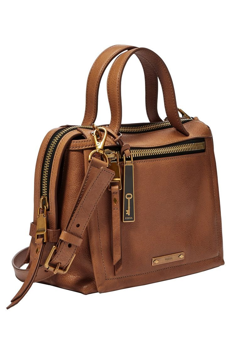 Fossil Bella Small Satchel Wallet Purse Leather Handbags Branded For Womens Ad